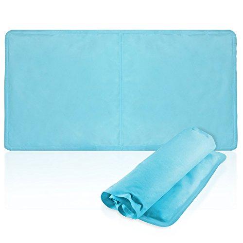 BRAMBLE Premium Almohada de Gel Fresco (55x30cm) - Suave Almohada de Enfriamiento