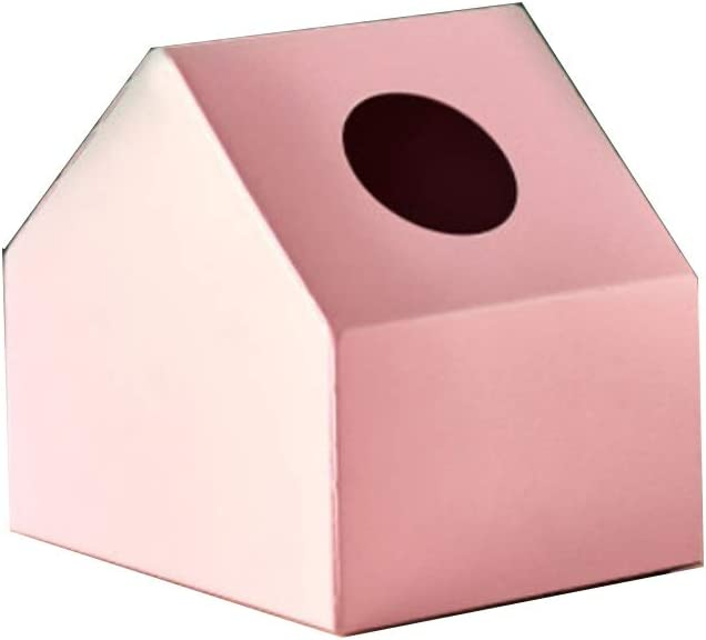 Fashion Tissue Box Cover Modern Max 73% OFF Square Gifts Facial P Metal