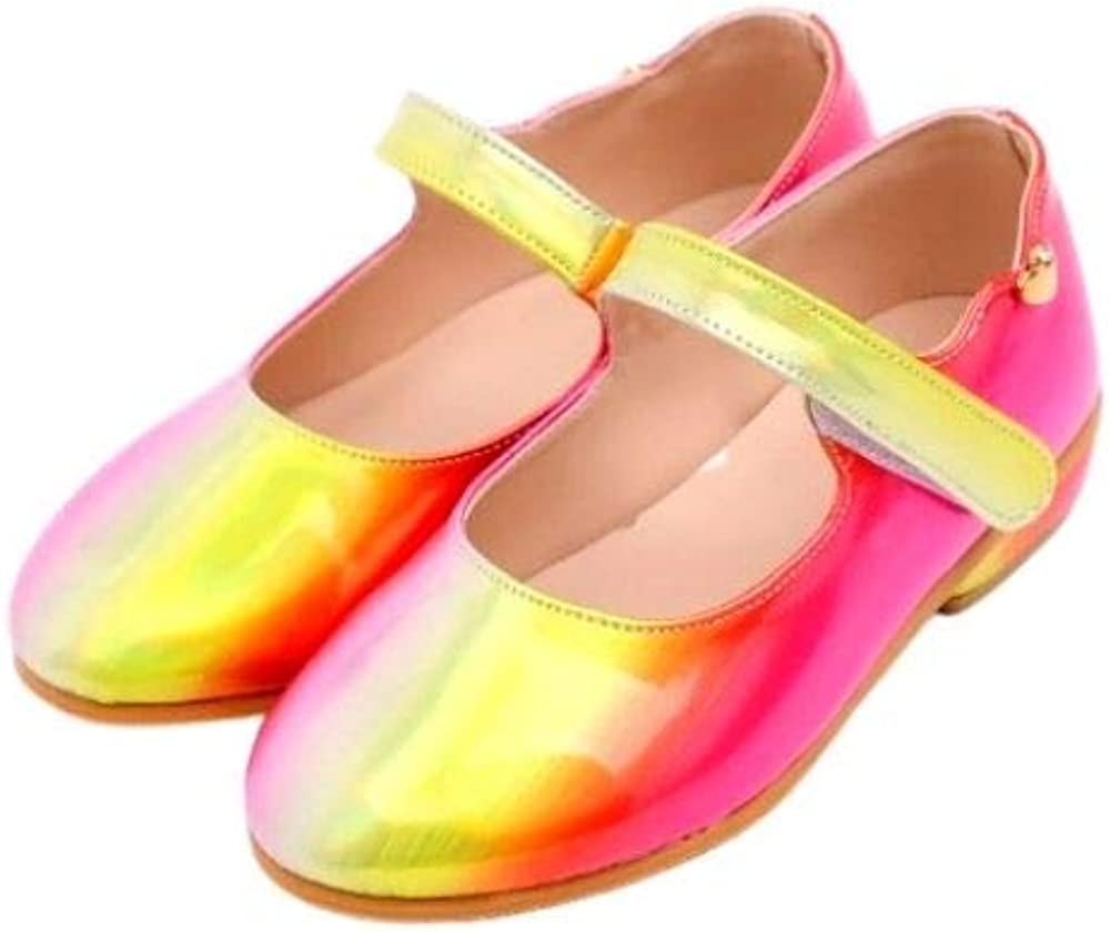 Ozkiz 'Milky Light' Mary Jane Shoes for Girls_Pink, US Size 8 Toddler ~ 1.5 Little Kid