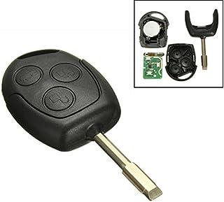Katur 1 Stück 3 Tasten 433Mhz Fernbedienung Entry Schlüsselanhänger für FORD/ Mondeo/Fiesta/Focus/KA TRANSIT