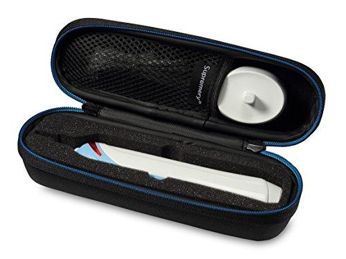 Supremery Tasche für Braun Oral-B Pro 700 750 1000 2000 3000 Elektrische Zahnbürste Case Schutz-Hülle Etui Tragetasche
