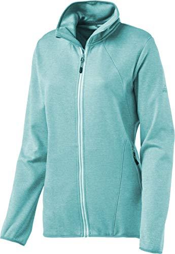 McKINLEY Damen Fleece- Roto II Jacke, Melange/Mint, 38