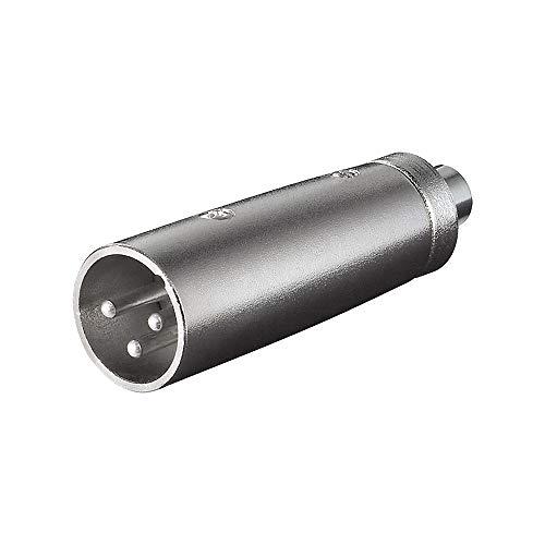 XLR Adapter 3-polig XLR Stecker auf Cinch Kupplung
