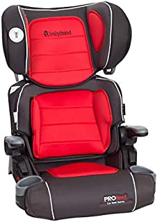 Baby Trend California Protect Car Seat Series Yumi 2-In-1 Folding Booster Seat - Red - HB40B59A