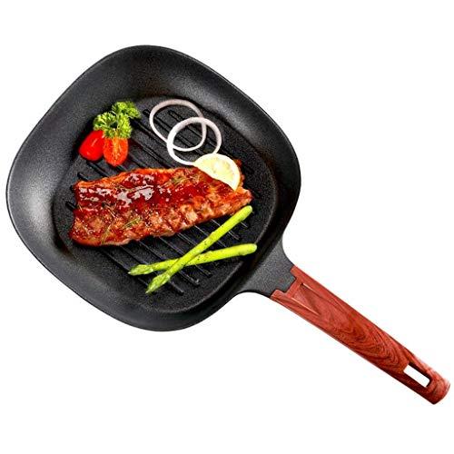SMEJS Omelette Pan/Egg Pan - Revêtement antiadhésif - Poêle Rectangle Mini Poêle
