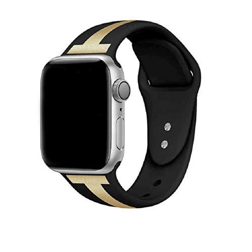 ESTK Bandas Deportivas Finas De Silicona Suave, Correas Compatibles Con Apple Watch Band, Pulseras De Repuesto Para La Serie Iwatch