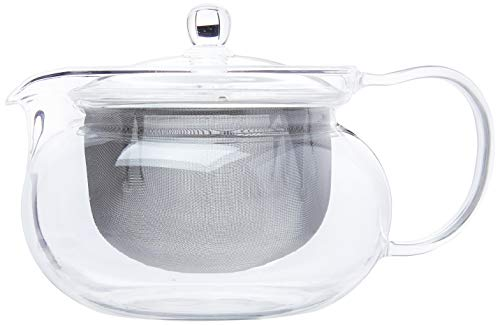Hario ChaCha Kyusu Maru Tea Pot, 700ml, glass,CHJMN-70T