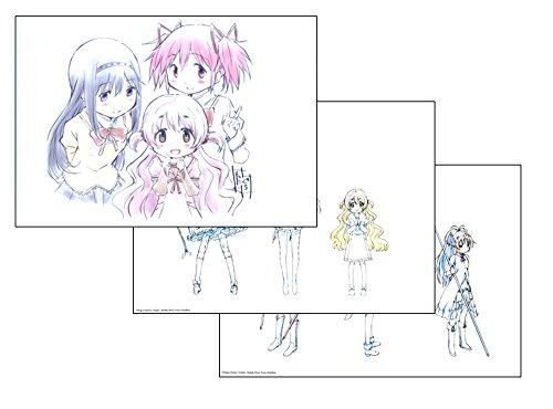 劇場版 魔法少女まどか☆マギカ 叛逆の物語 複製原画付き 谷口淳一郎 描き起こし クリアファイル シークレット
