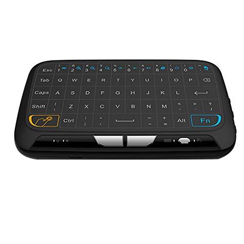 DWG Mini 2.4G Teclado sin Hilos, Teclado del Ordenador portátil con el ratón touchpad para Android Google de Windows Ventanas Smart TV Linux Mac