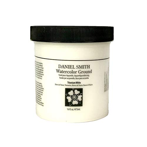 DANIEL SMITH 1 Pint Watercolor Ground, Jar