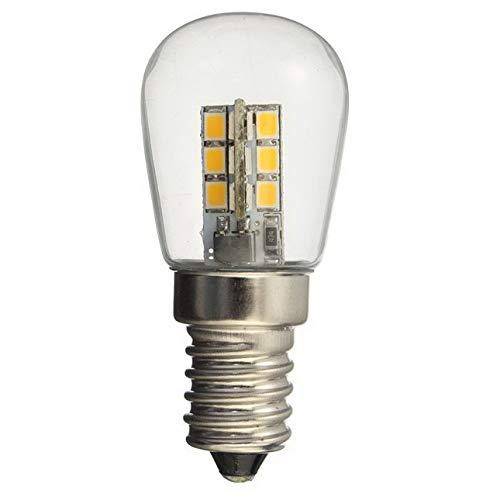 Ballylelly AC220 / AC110V führte Birne E12 E14 Smd 24 geführte Glaslampenschirm-reine warme weiße Lampe der hohen Helligkeit für Nähmaschine-Kühlschrank