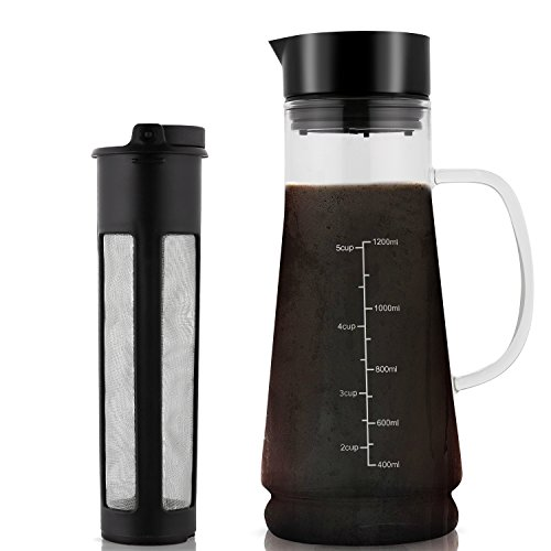 Cold Brew Coffee Maker Glass...