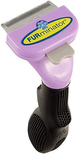 FURminator deShedding-Tool Taglia del gatto S - Spazzola per gatti piccoli per rimuovere il sottopelo, a pelo lungo