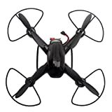 OVERMAL Drone 2.4G 4CH 6-Axis Mini RC Gyro Quadcopter hélicoptère avec caméra 2MP