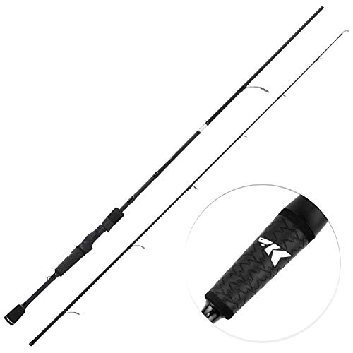 KastKing Crixus Fishing Rods, Spinning Rod 5ft 6in-Light - M Fast-2pcs