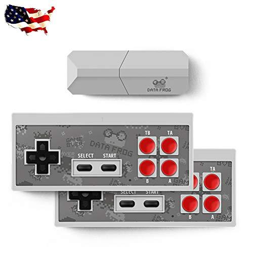 Consola de Juegos Hdmi TV y2 Consola de Juegos HD, Mini Consola Controlador Retro Salida inalámbrica Jugadores duales Consola de Videojuegos 4k Videojuego (Y2 HDMI 600 Game 1Set)