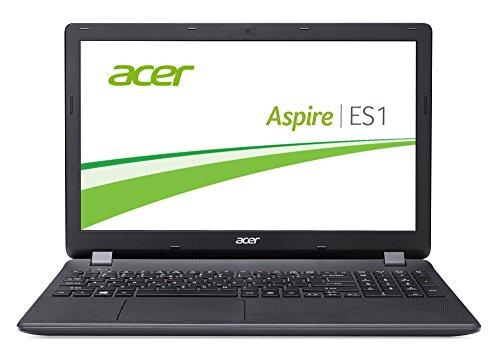 Acer Aspire ES 15 (ES1-571-37DA) 39,6 cm (15,6 Zoll Full HD) Office Laptop (Intel Core i3-5005U, 4GB, 1000GB HDD, Intel HD Graphics, Bluetooth, HDMI, SD Kartenleser, DVD, Win 10 Home) schwarz