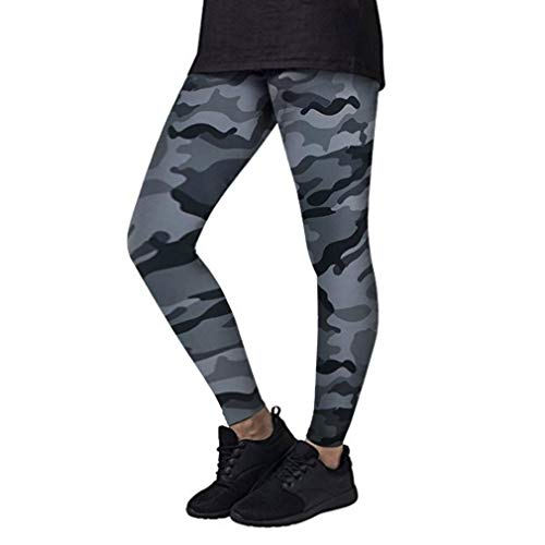 Yogahosen Damen Bunt Camouflage Eng Stil Yoga Einfacher Fashion Mumuj Hosen Workout Gym Leggings Fitness Sporthose Sportlich Laufende Mandala Pants Shapers Pilates Hosen