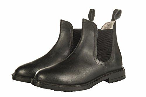 HKM Erwachsene Jodhpurschuh -Illinois- mit Teddyfutter9100 schwarz41 Hose, 9100 schwarz, 41
