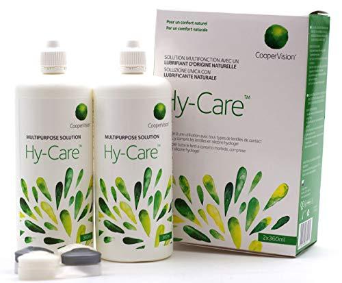 CooperVision Hy-Care - Kontaktlinsenlösung, 1er Pack (1 x 720 ml)
