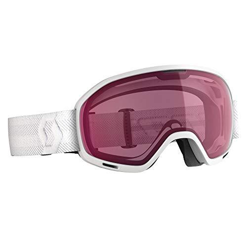 Scott Unlimited II OTG Goggle Weiß, Skibrille, Größe One Size - Farbe White Enhancer