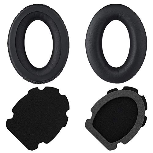 A20 Replacement Ear Pads Cushions Kit Parts Muffs Compatible with Bose A20 / A10 Aviation Headset.