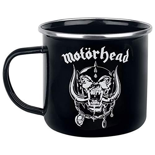 KlangUndKleid.de Z888695 Motörhead Tasse WARPIG Emaille Kaffeebecher