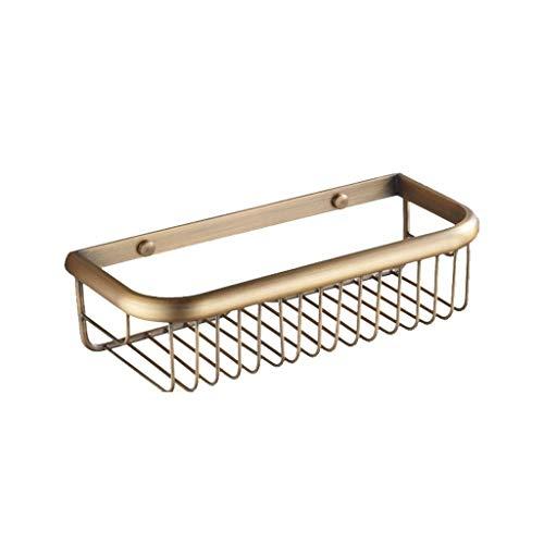 JUIZS rek badkamer magazijnrek metaal badkamer rek goud-wand-opslagmand rek liner rekken en rekken badkamer rek zonder boren
