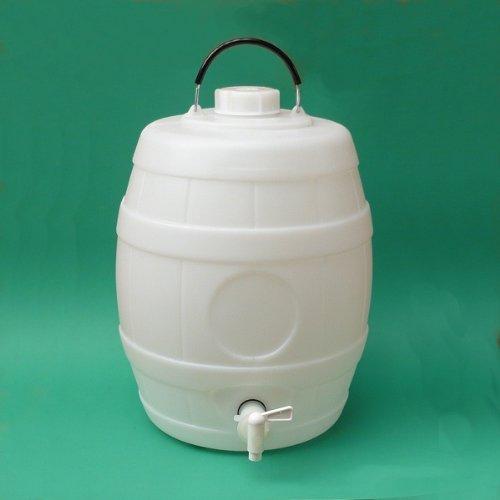 Bigger Jugs - Fusto di birra a pressione con tappo di ventilazione, capienza 23 l