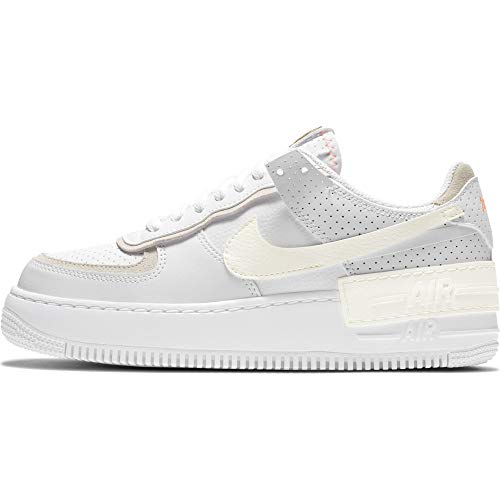 Nike WMNS AIR FORCE 1 SHADOW SE Größe: 39 EU Farbe: WHITE