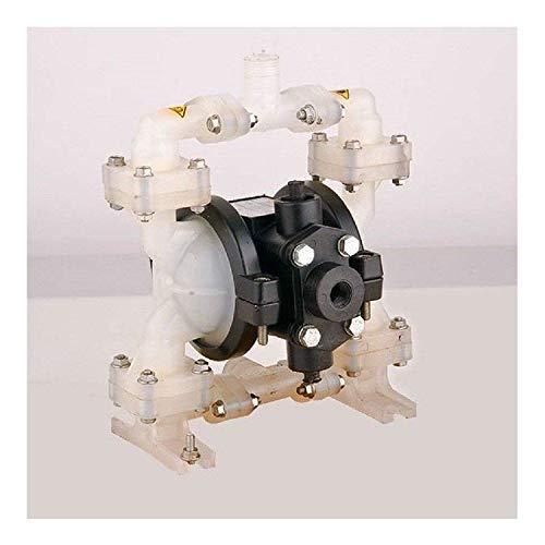 Uzman-Versand HP02 Druckluft Doppelmembranpumpe, 15liter/min Doppel-Membranpumpe, Druckluftmembranpumpe, Membran-Pumpen, Fasspumpe, Wasserpumpe, Tauchpumpe, Förderpumpe,