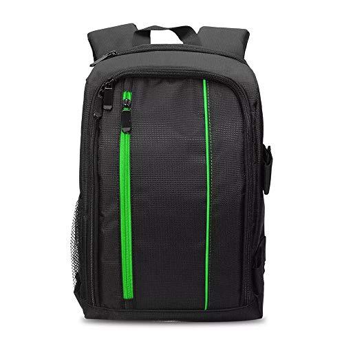 XuZeLii Kameratasche Backpacking DSLR-Kamera wasserdichte Beutel Regen Abdeckung Und Stativ Fittingsystem Ist for Die Meisten Digitalen SLR-Kameras Geeignet DSLR Rucksack