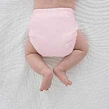 SmartNappy Swim Diaper, NextGen Hybrid Cloth Diaper Cover + 1 Tri-fold Reusable Insert + 1 Reusable Booster, Pastel Pink, Size 3, 12-25 lbs
