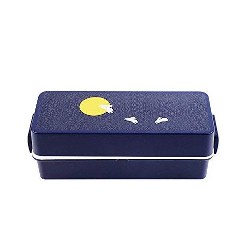 Food Thermos Versatile Calore Conservazione insapore Bento Boxes Doppio Strato Grande capacità dei Bambini della Scatola di Pranzo di Blocco Cattura Design Coperchio ERMETICO Bento Lunch Box
