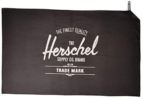 Herschel Camp Towel, Black, One Size