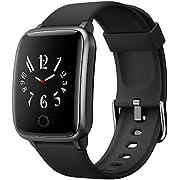 orit Smartwatch,Fitness Armband Uhr IP68 Wasserdicht Fitness Tracker Sportuhr Fitness Uhr mit Schrittzähler Pulsuhren Stoppuhr Schlafmonitor für iOS Android Handy für Damen Herren SmartWatch Sport
