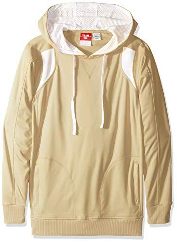 AquaGuard Men's TM36-TT30-Chef Designs Elite Performance Hoodie, Soft Pink Vegas Gold/White, X-Small