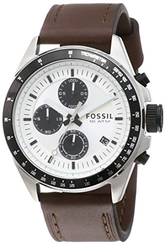 Fossil Chronograph Silver Dial Men's Watch