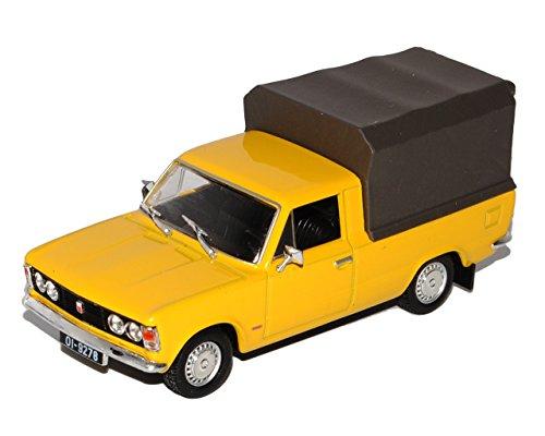 Unbekannt FIAT Polski 125P Pick-Up Gelb 1/43 Modellcarsonline Modell Auto