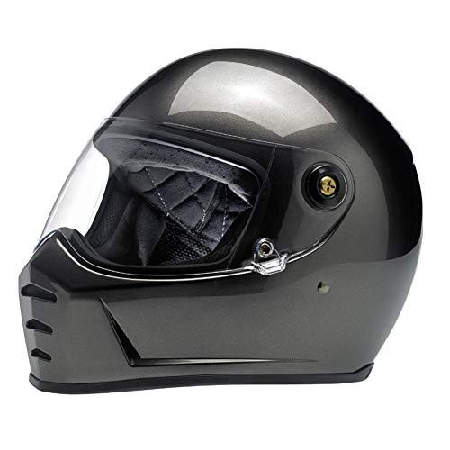 Biltwell Lane divisor sólido Full-Face casco de moto–BRONCE metálico