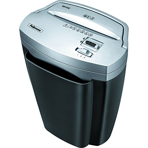 Fellowes Powershred W11C, 11-Sheet Cross-cut Paper and Credit Card Shredder with...