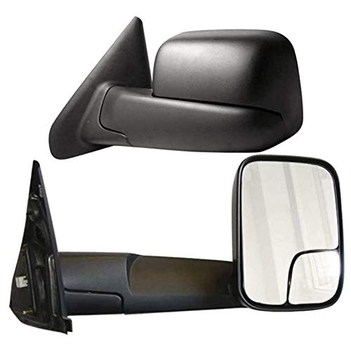 Learn More About Brighter Design Towing Mirrors for 2003-2009 Dodge RAM 2500/3500 [Manual] Premium F...