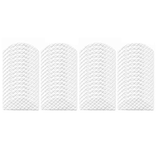 LuckyMAO Vacuum Cleaner Parts Accessories 60 Stück Einweg-Rags for Fit for Ecovacs Deebot Ozmo T8 Staubsauger Mop Tücher Mopping Pads Ersatzteile (Color : White)