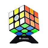 Cubelelo GAN 356 Air Master Edition 3x3 Black Base Flagship Speedcube 3x3x3 Premium Magic Cube (with New Blue Core) Speedcube Puzzle Magic Toy