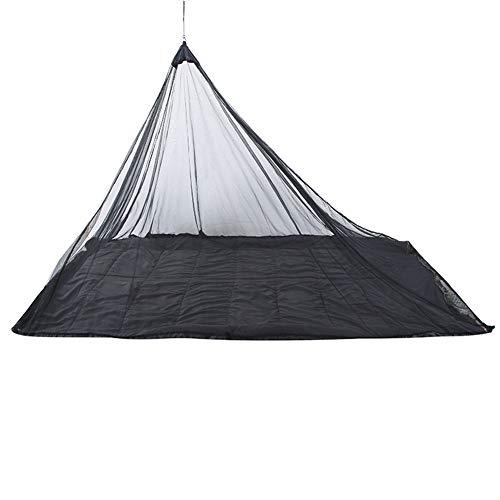 1pc Mosquito Camping Insect Net Leicht Und Kompakt Außen Bug Netting Mit Tragetasche Für Das Überleben, Fits Schlafsäcke, Zelte, Betten (schwarz)