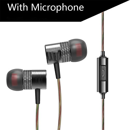 NeeKer Eearphone Latest Original Brand fone de ouvido In-Ear Earphones with Mic 3.5mm Hifi Gold Plated Go Pro Music WIth Microphone