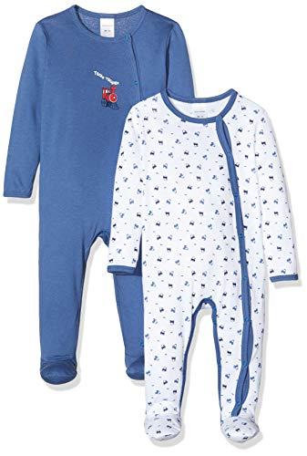 Schiesser Baby-Jungen Multipack 2pack Anzug + Beutel Zweiteiliger Schlafanzug, Mehrfarbig (Sortiert 1 901), 92 (2er Pack)