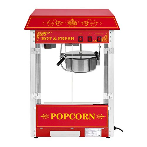 Popcorn selber machen mit der Popcornmaschine