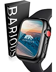 BARIOUS BARIGUARD3 for AppleWatch アップルウォッチ用 防水 保護ケース マットブラック Apple Watch Series6 Series5 Series4 SE 対応 44mm