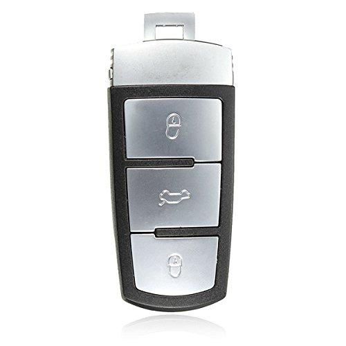 C-FUNN 3 Bouton Télécommande Porte-Clé Remplacement Case Shell pour Volkswagen